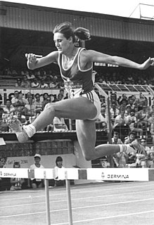 Sabine Busch East German athlete