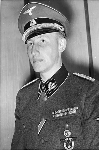 Reich Main Security Office - Reinhard Heydrich, the original chief of the RSHA, as an SS-Gruppenführer in August 1940