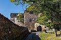 Burg Ranis, Vorburg, Ansicht von Osten, 151002, ako.jpg