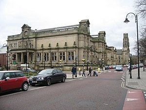 Bury Art Museum - Bury Art Museum with Bury Central Library
