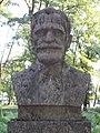 Bust of Jenő Cholnoky by István Balázs (1969) in Helikon Park, Keszthely, 2016 Hungary.jpg