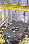 By the Dozen- NASA's James Webb Space Telescope Mirrors (23607727573).jpg