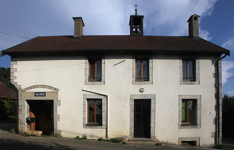Mairie de Côtebrune (Doubs).