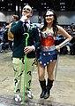C2E2 2014 - Riddler & Wonder Woman (14248624856).jpg