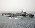 CGC MAUI ALONGSIDE USS HARRY S. TRUMAN (2441052441).jpg