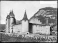 CH-NB - Aigle, Château, vue partielle - Collection Max van Berchem - EAD-7156.tif