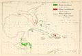 CL-46 Pinus caribaea, Pinus occidentalis & Pinus cubensis range map.png