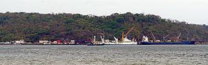 Puntarenas Province - The Port of Caldera, located in the Puntarenas province, is Costa Rica's main port in the Pacific coast.