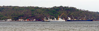 Puntarenas Province - The Port of Caldera, located in the Puntarenas province, is Costa Rica's main port in the Pacific coast.
