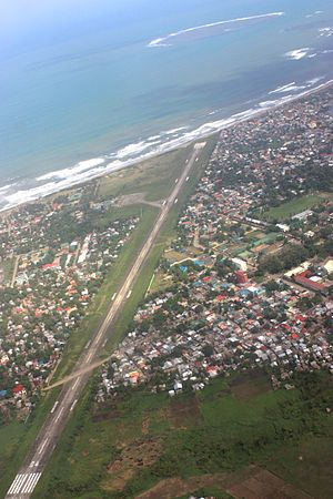 Catarman National Airport - Image: CRM Aerial