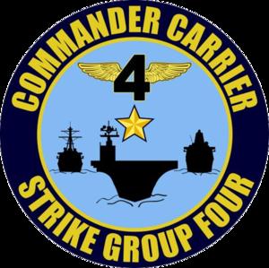 Commander Strike Force Training Atlantic - Image: CSG4 Logo
