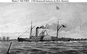 Cottonclad warship - Image: CSS Stonewall Jackson La Navy River Defense Ram