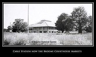 Australian Overland Telegraph Line - The Original Cable Station, Broome Western Australia