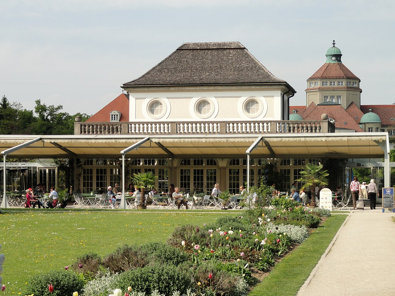 Botanischer Garten Cafe M Ef Bf Bdnchen