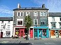Cafe and charity shop, Maengwyn Street, Machynlleth - geograph.org.uk - 1523127.jpg