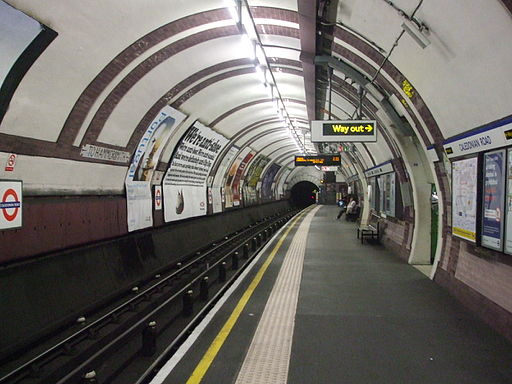 Caledonian Road stn southbound