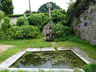 Calvaire-fontaine de Plésidy