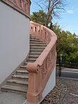 Calvary sculpture. Stairs. - Gödöllő.JPG