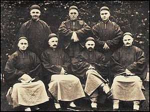 Cambridge Seven - The Cambridge Seven in Chinese clothing — 1885