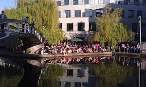 Camden Lock - A warm summer day at Camden Lock