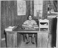 "Camp ""Y"". Major S. Karr, Camp Commandant. Trincomallee, Ceylon, July 24, 1945. - NARA - 540052.tif"