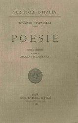 Tommaso Campanella: Poesie
