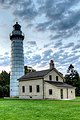 Cana Island Lighthouse, Door County, Wisconsin, October 2016.jpg