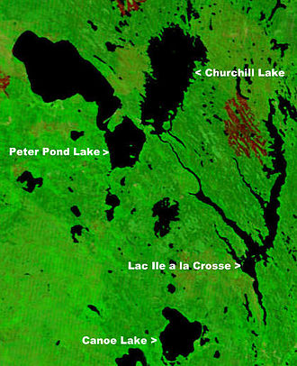 Canoe Lake (Saskatchewan) - Image: Canada.A2002236.1810 .721.250m