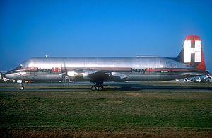 Air Foyle HeavyLift - A Heavylift CL-44O at Paris-Charles de Gaulle