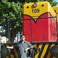 Canopus49 y su locomotora favorita.JPG