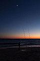 Cap Ferret - Arcachon - Océan Atlantique - Picture Image Photography - Moon and sunset - Lune et coucher de soleil (11257230934).jpg
