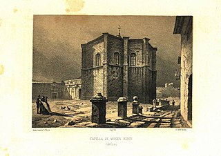 Grabado de Francisco Javier Parcerisa de 1865..