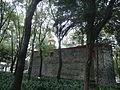 Capilla de San Lorenzo Mártir, Ciudad de México, desde los jardines de la plaza.JPG