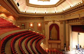 Capitol Theatre (Yakima, Washington) - The interior of the theatre