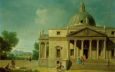 Capriccio with a view of Mereworth Castle, Kent.jpg