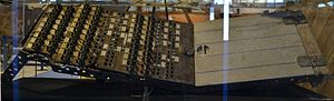 Caproni Ca.60 engine control panel.JPG