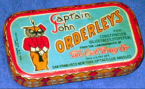 The Owl Drug Company - Captain John Orderleys laxative from The Owl Drug Company