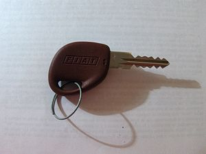 Photo of a FIAT Brava key