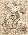 Caricatures of a Fish and a Bird Peddler in Ornamental Frames MET DP803861.jpg