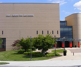 Morgan State University - When at home, the choir performs here at the Carl J. Murphy Fine Arts Center