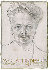 The Author August Strindberg