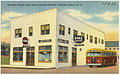 Carolina Beach Drug Store, and Bus Station, Carolina Beach, N. C. (5755504781).jpg
