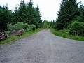 Carrick to Lochgair road-junction with Road to Lochgilphead - geograph.org.uk - 481988.jpg