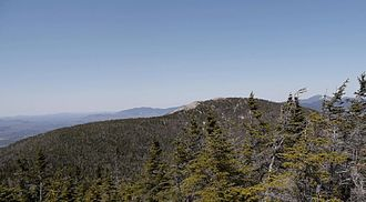 Cascade Mountain (New York) - Cascade Mountain, from Porter Mountain
