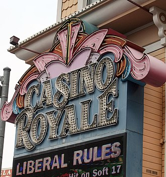 Casino Royale Hotel & Casino - Image: Casino Royale Sign Las Vegas 2008