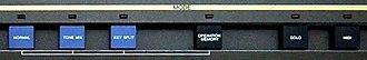 Casio CZ synthesizers - Casio CZ-1 mode panel