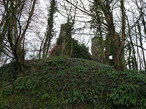 Castell Moel - Castell Moel from Llansteffan Road