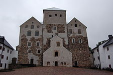 Castle of Turku, courtyard renaissance part.jpg