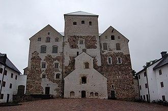 Turku Castle - The castle's courtyard