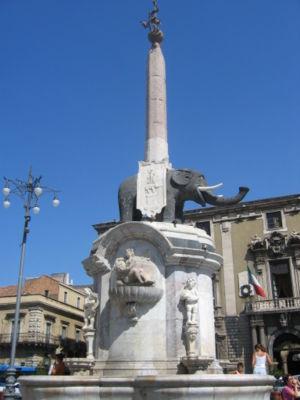 Catane Fontana Dell elefante